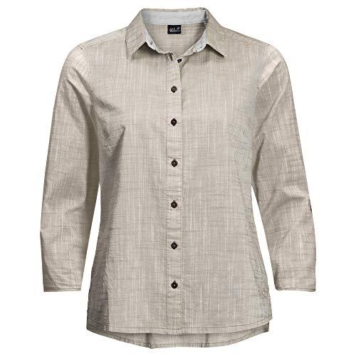 Jack Wolfskin Herren Emerald Lake Shirt Bluse, Dusty Grey, XL