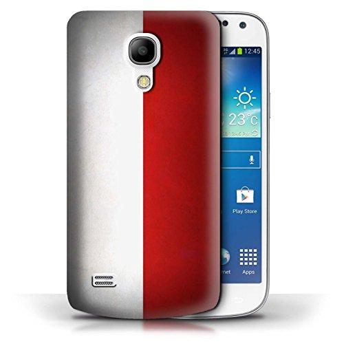 Etui / Coque pour Samsung Galaxy S4 Mini / Columbia/Colombie conception / Collection de Drapeau Pologne/polonais