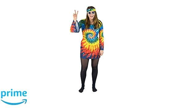 Bodysocks anni/'60 /& anni/'70 Hippie Parrucca
