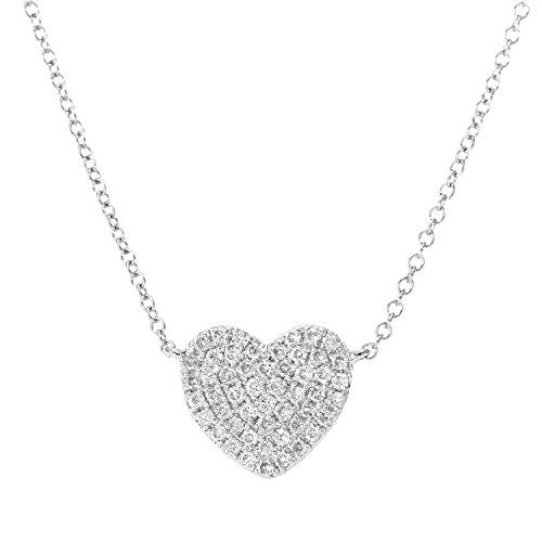 e Weißgold 18 karat Diamant 0,15 ct 41 cm ()