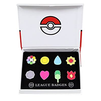 Pokemon Gym Badges Kanto Generation Collection Set of 8 (Generation 1) de Pokemon