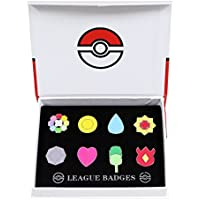 Pokemon Gym Badges Kanto Generation Collection Set of 8 (Generation 1)
