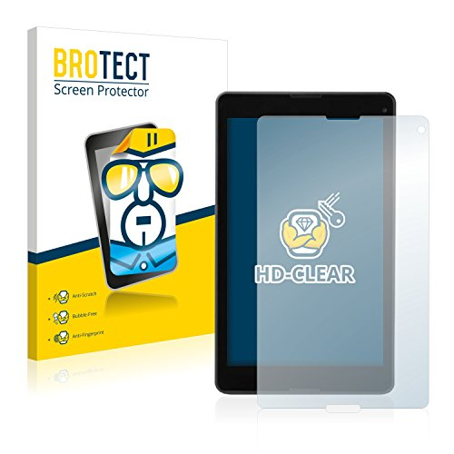 BROTECT Schutzfolie kompatibel mit Medion Lifetab P8514 (MD 60176) [2er Pack] - klarer Bildschirmschutz
