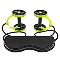 ab Roller Wheel abdominal Muscle Trainer Wheel arm Waist Leg Exercise Multi-functional Exercise Gym Fitness Equipments With Mat