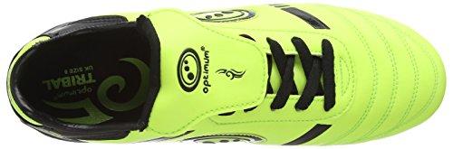 Optimum - Tribal, Scarpe da rugby Uomo Giallo (Giallo (Yellow/Black))