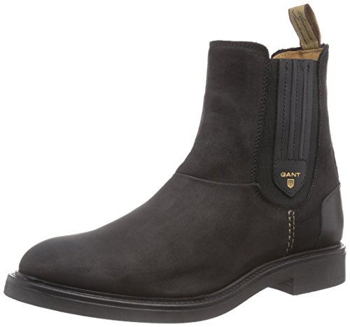 GANT FOOTWEAR Ashley Damen Chelsea Boots Schwarz (black  G00)