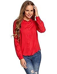 nuovo arrivo 0df43 19806 Amazon.it: camicia rossa donna - Bluse e camicie / T-shirt ...