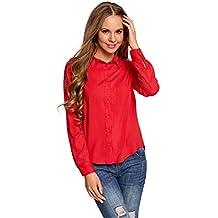 online store 63831 30b12 Amazon.it: camicia rossa donna - Spedizione gratuita via Amazon
