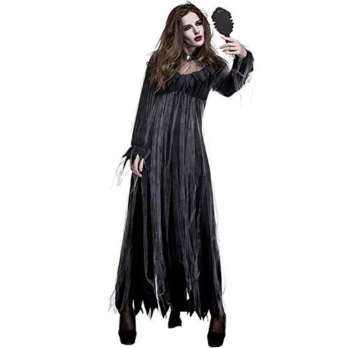 ERFD&GRF Halloween Kleid Für Frauen Horror Phantasie