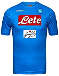 2017/18 SSC Napoli Stadium Home jersey Light blue 17/18 Naples Kappa
