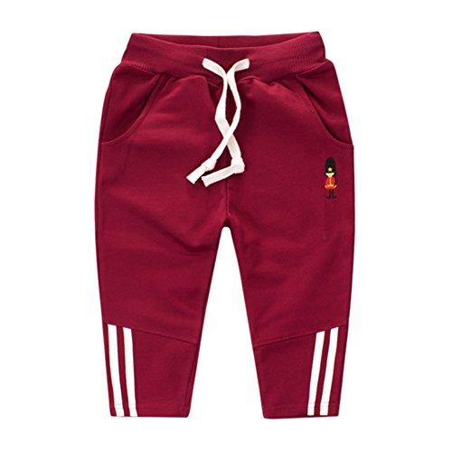 Allouli Winter Spring Baby Infant Boys Girls Casual Jogging Harem Pants Kids Sport Running Trousers (Navy-yoga-hosen Old)