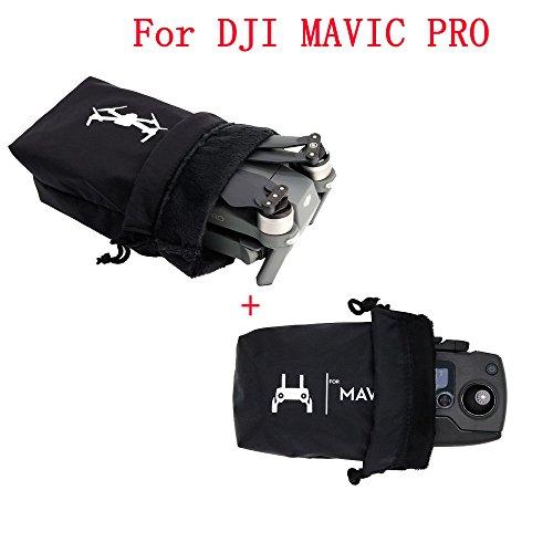 Qomomont 2 stücke Aufbewahrungs Tasche Für DJI Mavic Pro Drone Tragbare Reise Tasche Box + Fernbedienung Tasche Fall - Drucker-fall Tragbare