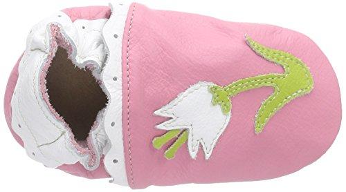 HOBEA-Germany Lauflernschuhe Blume Pink Pink (Pink)