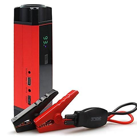 Car Rover® Portable Jump Starter Chargeurs de Batterie Voiture Booster de demarrage Power Bank avec 1000A Courant Crête 54000mwh Capacité de Batterie pour Ordinateur Portable Smartphone Tablet
