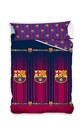 Asditex Funda Nórdica Futbol Club Barcelona FCB, Color Único, 2 Piezas Incluye Funda de Almohada...