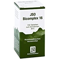 Jso Bicomplex Heilmittel Nummer 16 150 stk preisvergleich bei billige-tabletten.eu
