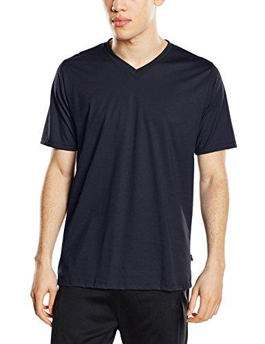 Trigema Herren 637203 T-Shirt, Blau (Navy 046), XXX-Large -