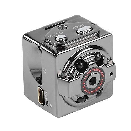 Garsent Mini Caméra Sport DV, Full HD 1080P DVR Caméra Voiture Vidéo DashCam Portable Support T-Flash 32G, Enregistreur de Voiture à Détection de Mouvement Monitor Stationnement.