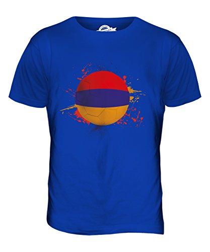 CandyMix Armenien Fußball Herren T Shirt Königsblau