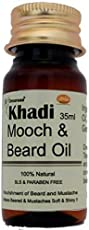 KHADI Omorose Khadi Beard and Mooch Growth Oil, 35ml (OMOROSEBEARDOIL)