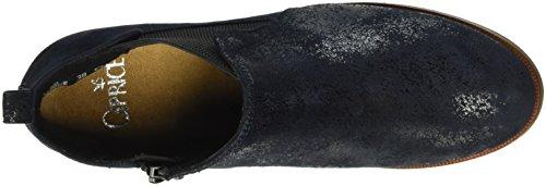 Caprice 25358, Stivaletti Donna Blu (OCEAN SUEDE 857)