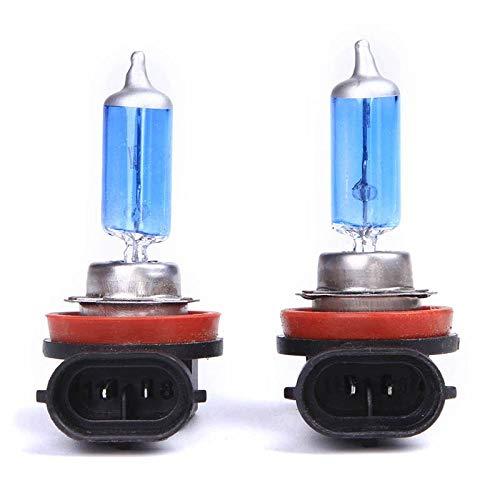 Source 12v - H11 12v 55w 100w Super Bright White Halogen Bulb Fog Lights Car Headlights Lamp Light Source - Source Light Beads Conversion Halogen Xenon Lamp Bulb Quartz White Miniature