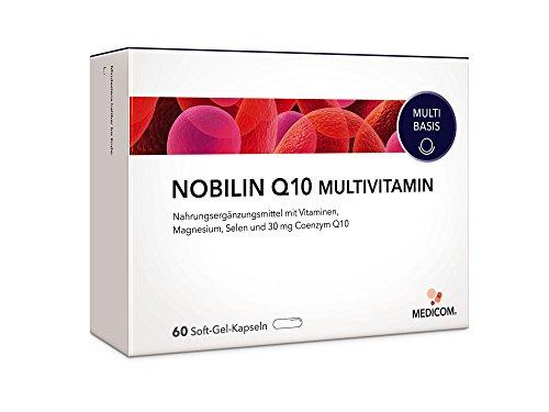 NOBILIN Q10 MULTIVITAMIN - 60 Soft-Gel-Kapseln