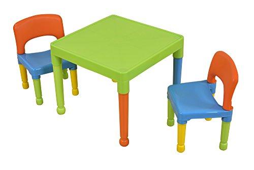 Tavoli Per Bambini In Plastica.Liberty House Toys Tavolo Da Gioco Per Bambini Con 2 Sedie In