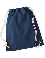 Torchon Westford Mill (avec cordon de serrage 100%  coton Gymsac Sac à dos de piscine en Scolaire-Sac de sport