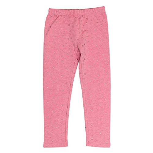 SALT AND PEPPER Mädchen Leggings Leggins Wild Heart, Pink (Fuchsia Melange 839), 98