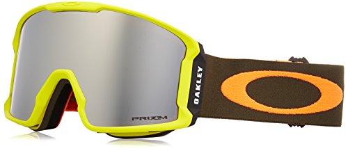 Oakley Herren Line Miner 707029 1 Sportbrille, Orange (Obsessive Laser/Prizmgoggleblackirid), 99 (Sonnenbrille Oakley Orange)
