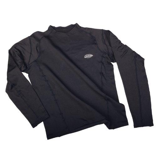 FINIS Uni Swimwear Thermal Training Shirt, black, S, 1.05.048.04 -