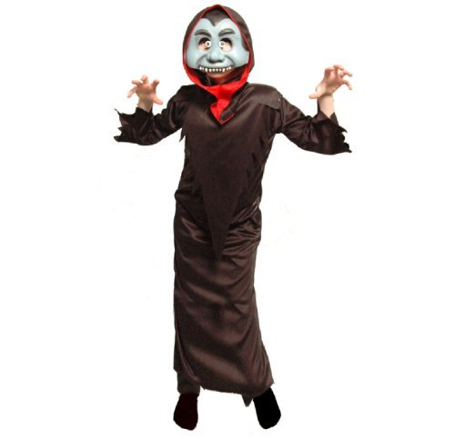 ke Mädchen Jungen Kostüm Zubehör - blau Vampir, 5-7 years (Vampir Kostüme Für Teenager-mädchen)