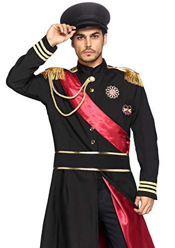 LEG AVENUE 85278 - Militär Allgemein Kostüm Set, 2-teilig, Größe XL, schwarz