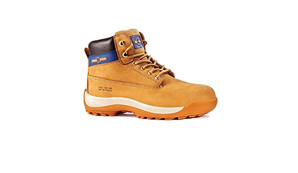 Rock Fall Pro Man Orlando Tc35c S3 Honey Nubuck Steel Toe Cap Work Safety Boots Boots Work Boots & Shoes