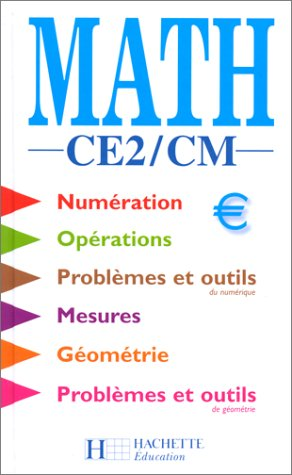 Maths, CE2 - CM. Elève
