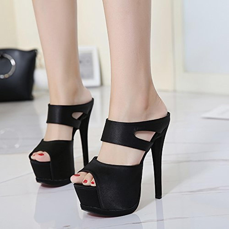 new style dd616 039bc GTVERNH-donna scarpe Scarpe Donna Tacco Uno Spessore Di Dodici Centimetri  Super Tacco Tacco Fico