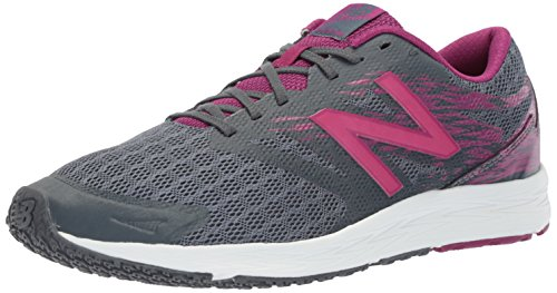 New Balance Flash, Zapatillas de Atletismo para Mujer, (Thunder/Mulberry), 37 EU