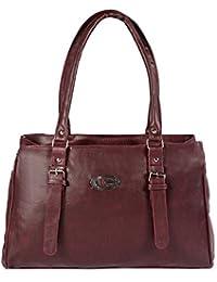 Fargo PU Women's Handbag (Maroon_FLFG-017)