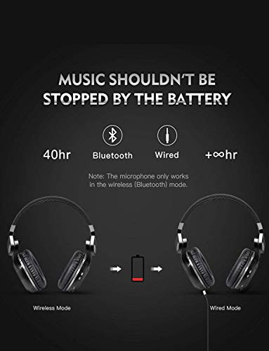 Bluedio T2S (Turbine 2 Shooting Brake) Bluetooth stereo headphones ... 8a389c1fe2fc
