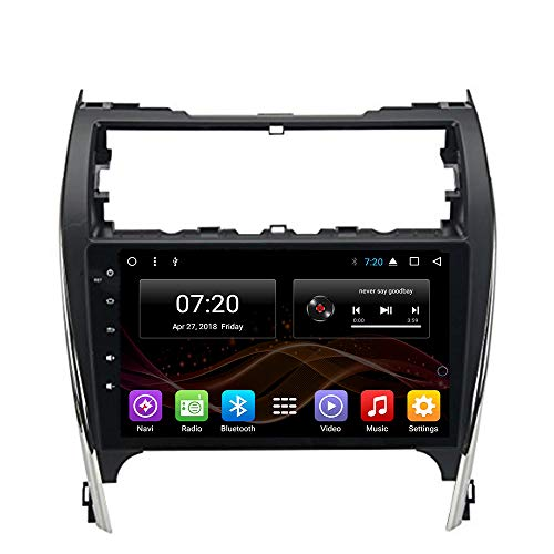 2.5D IPS Android 8.1 Octa Core Car DVD Radio GPS Navigation for Toyota Camry 2012 2013 2014 Stereo Audio Navi Video with Bluetooth Calling WiFi Touch Screen (Android 8.1 4/64G for Toyota Camry 12-14) (Toyota Camry 2014 Radio)