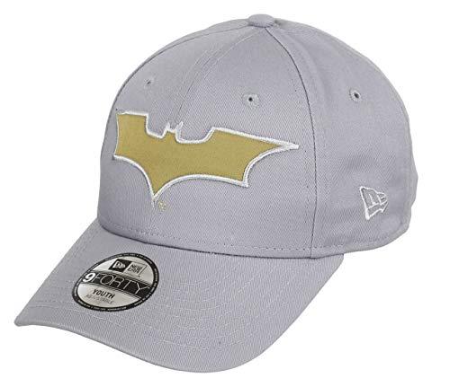 New Era Batman Grey Gold Character 9Forty Velcroback Cap Child Kind - New Era Hüte Jungen