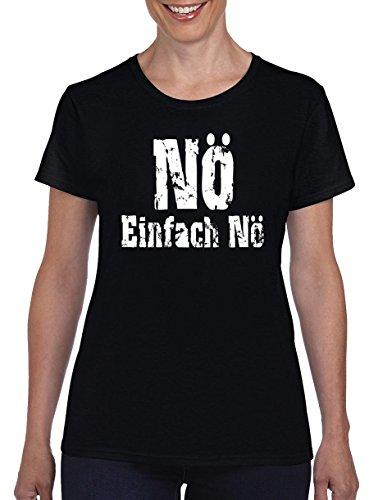 Top Ten Einfache Halloween Kostüm - TSP Nö Einfach Nö Damen T-Shirt