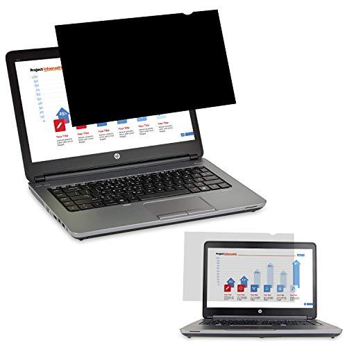 Yivin - Filtro de Privacidad Protector de Pantalla, Antideslumbrante filtrar para 15.6 Pulgadas computadora de Pantalla Ancha & Ordenador portátil (15.6' Pulgadas 16:9)