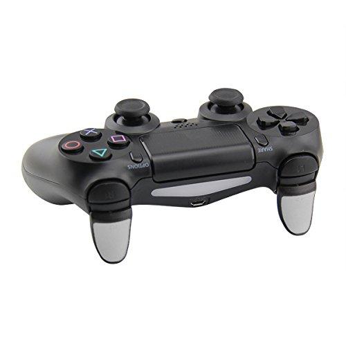 Preisvergleich Produktbild SAR-Market - Grip Trigger Extender / Verlängerung für PS4 Controller / auch kompatibel für Slim & Pro! (4 Stück,  weiß)