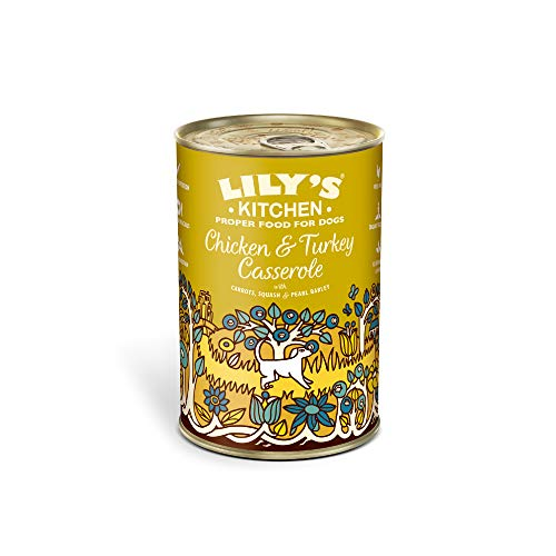 Lily's Kitchen Comida húmeda para perros, 400 g, 6 unidades