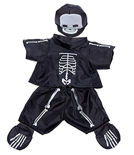Stuffems Toy Shop Skelett Kostüm paßt die meist 8