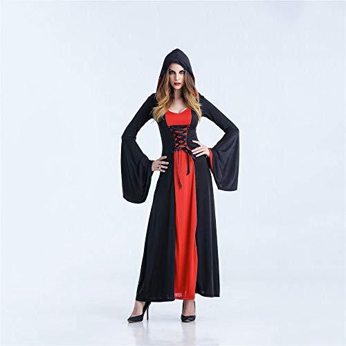 Shisky costume da cosplay donne, zombie de halloween cosplay vampiro horror fiesta baile de disfraces vestido de la bruja