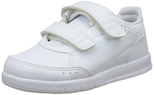 adidas Unisex-Kinder AltaSport CF Fitnessschuhe, Elfenbein Ftwwht/Clegre Ba9513, 23.5 EU