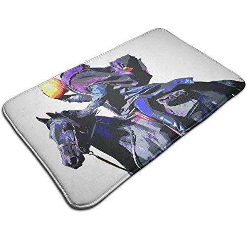 Uosliks Headless Horseman Wand Kunstdruck Wurfbereich Bodenmatte Willkommen Eingangsbereich Teppich Küche Bad Boden Party Teppich -